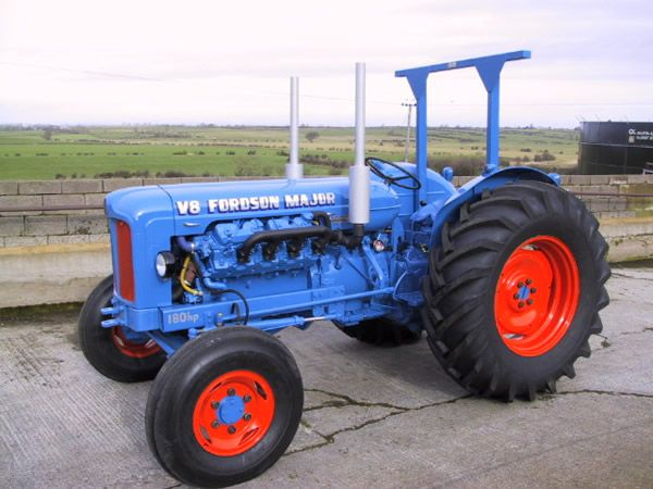 V8 Antique Tractors : R l stauffer antique autos v conversion kit